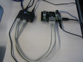 Our TTEthernet uC implementation traced with an Ethernet tap